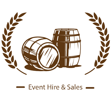Hire Wine Barrels Sticky Logo